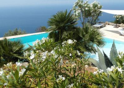 Garten, Pool und Meerblick Finca Valldemossa