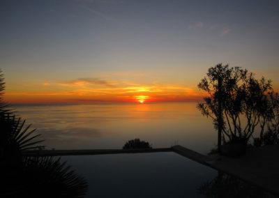 Traumhafter Sonnenuntergang Finca Valldemossa